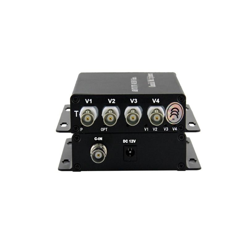 video multiplexer coaxial ahd seguranca distancia de 04