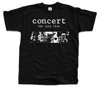 THE CURE Live Concert ver. 1 Robert Smith T Shirt (Black) S 5XL2019 fashionable Brand 100%cotton Printed Round Neck T shirts che