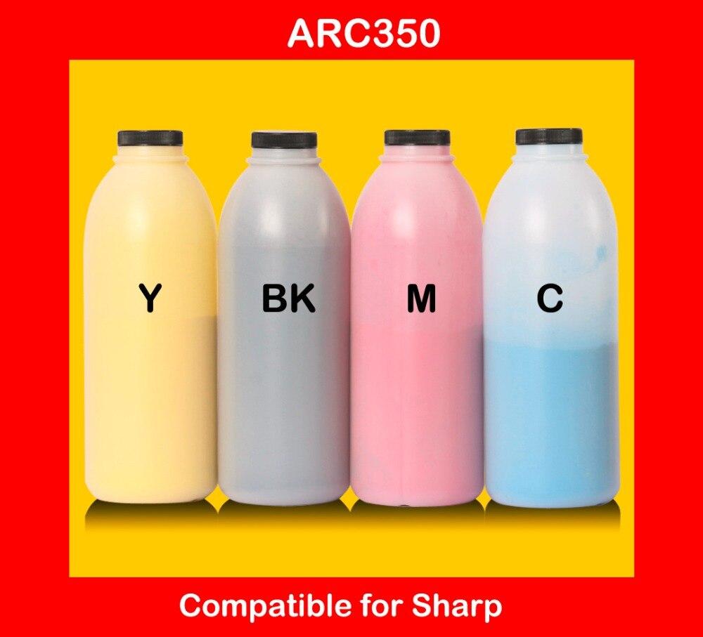 compatible for Sharp arc350 c350 350 refill color font b toner b font powder high quality