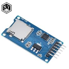 1 PCS Grote HET Micro sd-kaart mini TF kaartlezer module SPI interfaces met level converter chip(China)