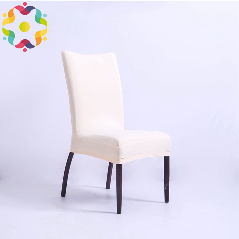 Good Quality Spandex Lycra Chair Cover Fit For Square Back Home Chairs Wedding Party Home Dinner Decoration Half Chair Covers