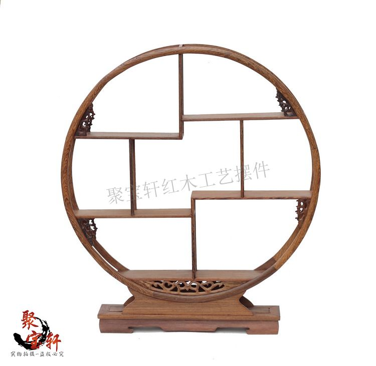 Annatto furniture chicken wings wood carving antique old classical dado solid wood antique Chinese style