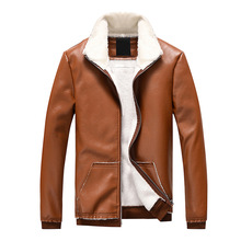 Dropshipping New arrive brand motorcycle leather jacket men men's leather jackets jaqueta de couro masculina mens leather coats цена