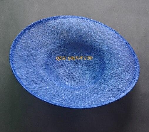 Королевский синий чародей База 1,3 см атласные головные ободки повязки для sinamay вуалетки шляпы