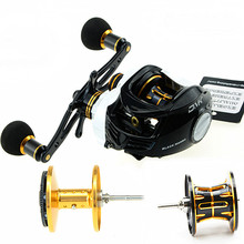 powerful metal baitcasting reel with centrifugal and magnetic brake system 7.0:1 8kg brake force 2cups