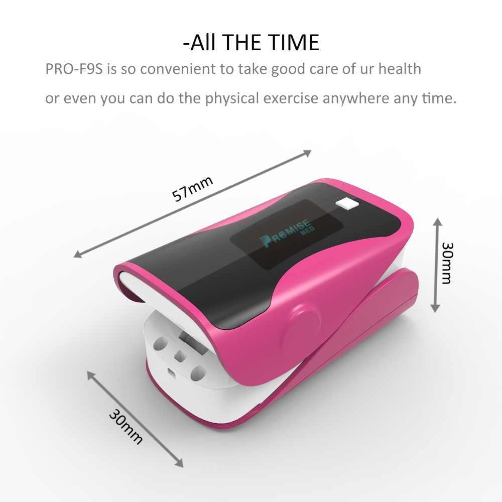 أحدث PRCMISEMED مراقب الصحة المنزلية مقياس التأكسج CE مراقب الإصبع نبض مقياس التأكسج SPO2 مقياس التأكسج سيليكون الاستشعار-لطيف الوردي