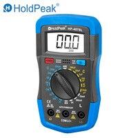 HoldPeak HP 4070L Indutância Capacitância Multímetro Digital LCD Medidor de Teste hFE Manual Gama Indutância LCR Medidor de Teste Multímetro|Multímetros| |  -