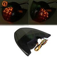 POSSBAY Motorcycle Blinker Custom 12V LED Long Life Service Brake Lamp Taillight Turn Signals For KTM 690 990 2005 2011