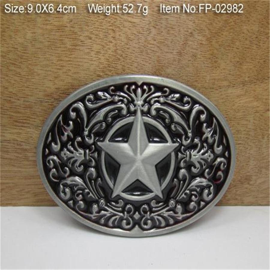 Black Star buckles mens designer belt buckles metal for jeans, women dress ( women pants, skirt, girls clothes, Kid clothes )