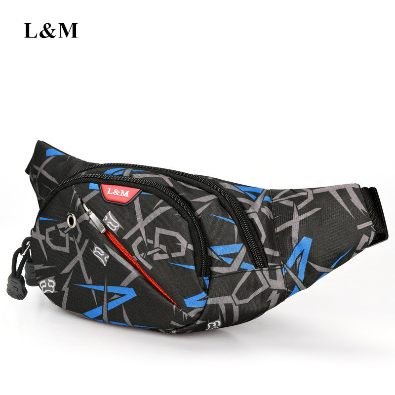 Waterproof Outdoor Running Bag Waist Pouch Sport Cycling Single Shoulder Pack Man Fitness Hiking Bag Unisex Bicycle Chest Bags
