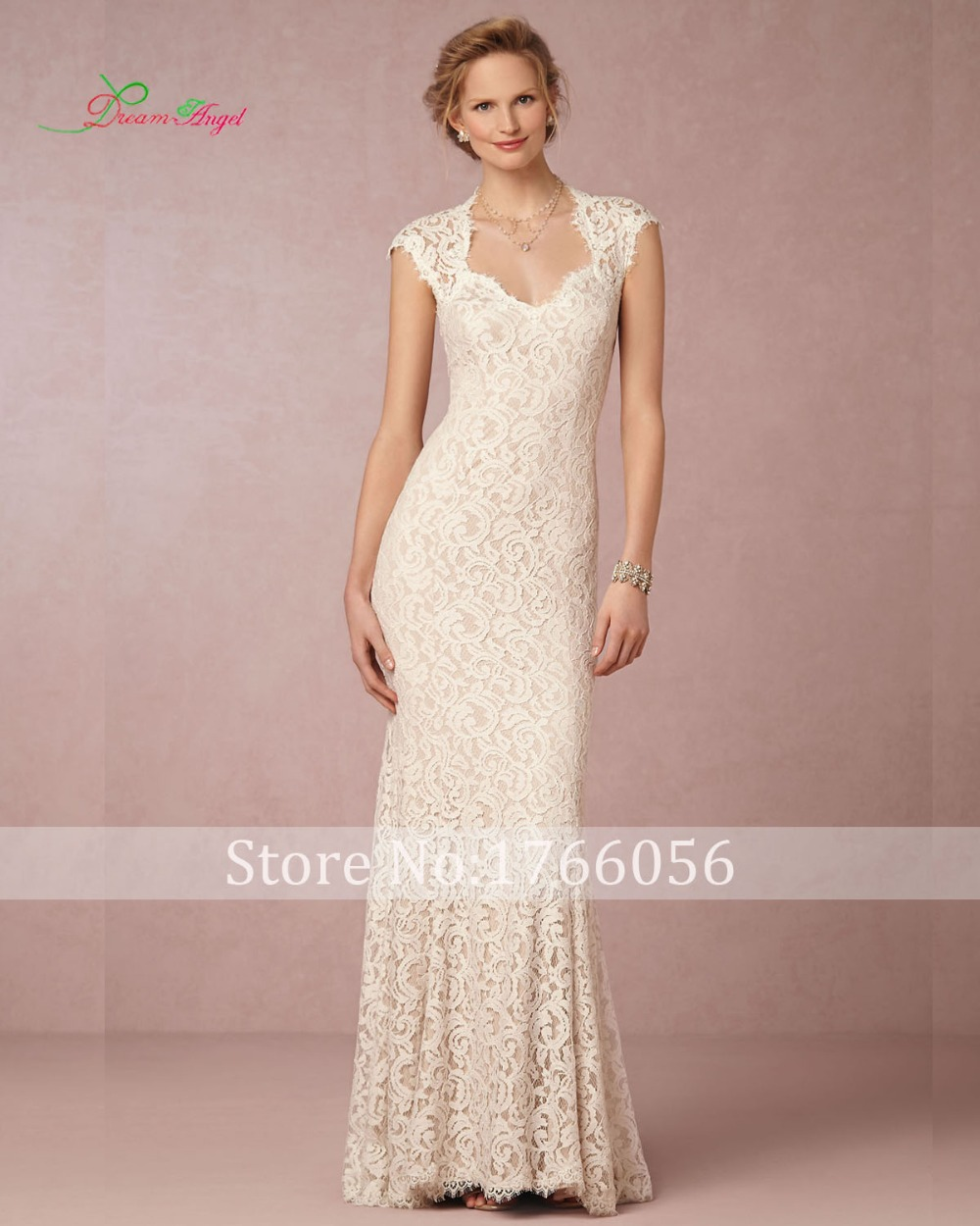 Online Get Cheap Lace Sheath Wedding Dress -Aliexpress.com ...