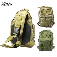 Mance Women Men Molle Sling Chest Bag Assault Pack Messenger Shoulder Bag CS S Mountaineering Bags