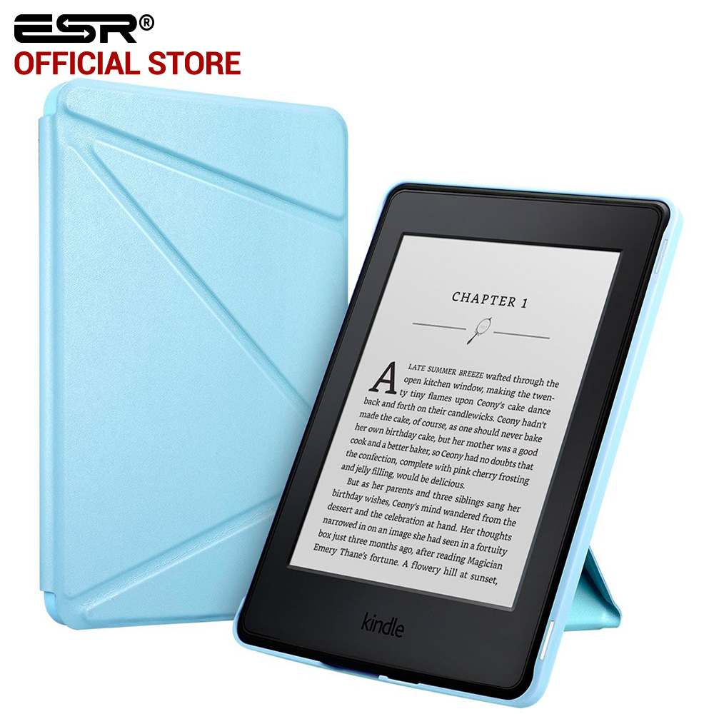 kindle paperwhite case esr yippee series folio stand smart cover