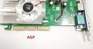 Image 2 - Yeni orijinal FX5500 256M AGP ekran kartı AGP4X 8X yükseltme tercih edilir, daha güçlü FX5200 ATI9550
