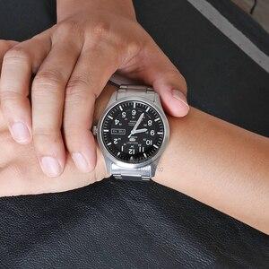 Image 5 - Seiko zegarek męski 5 automatyczny zegarek luksusowej marki wodoodporny zegarek sportowy data męskie zegarki zegarek do nurkowania relogio masculin SNZG