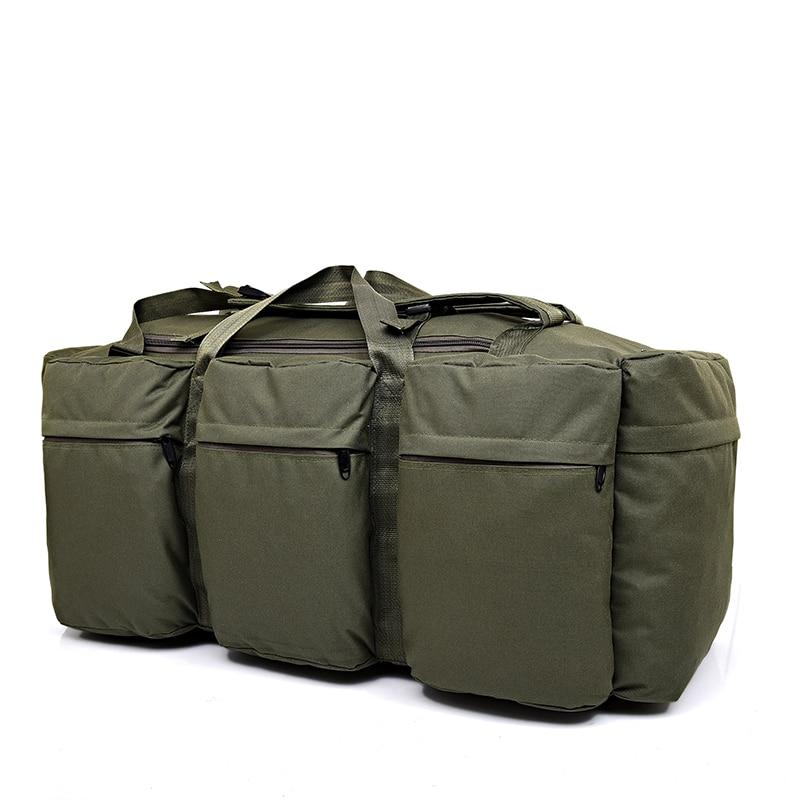 Mochila táctica de deportes al aire libre para Camping bolsa militar de nailon para ciclismo senderismo escalada 90L bolsa de viaje de gran capacidad