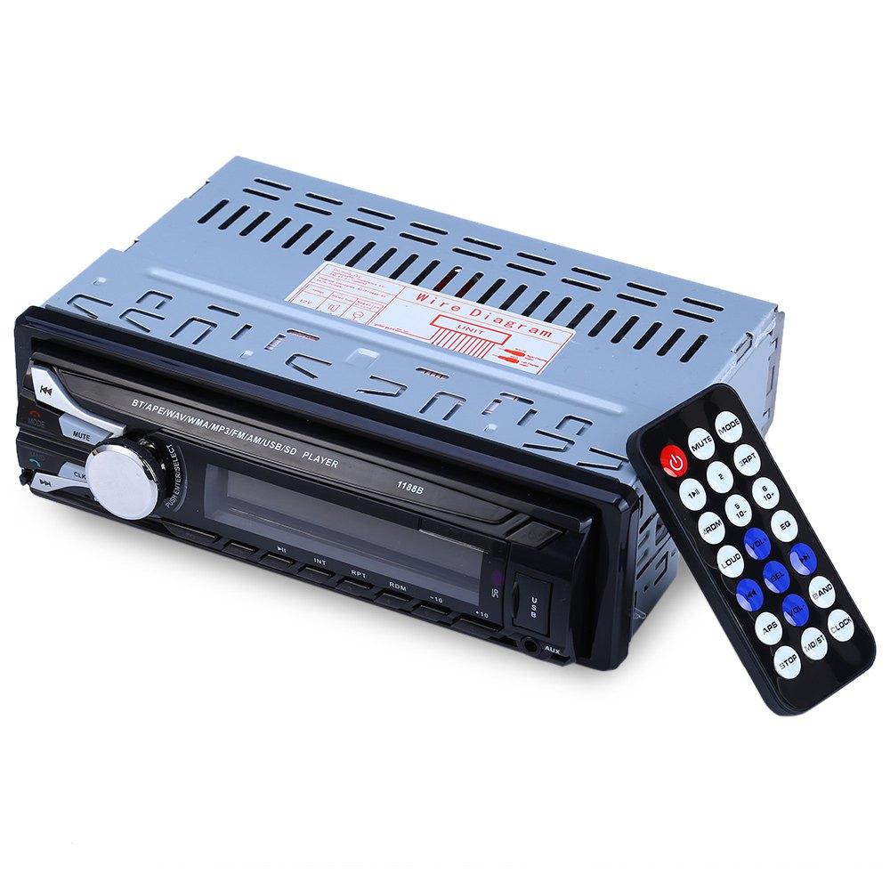 1 дин аудио стерео радио съемная