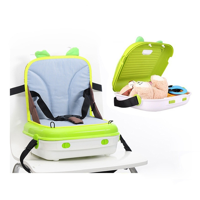 Multifunction Portable Baby Dining Chair Booster Seat Child Table Safety  Seat Storage Box Waterproof Travel Portable