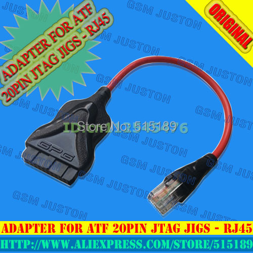 Бесплатная доставка Адаптер Для Atf 20 pin j-tag джиги Rj45