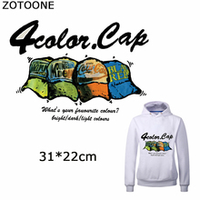 ZOTOONE Punk Hats Patches for Clothing Diy Cap Iron on Transfer New Design for T-shirt Thermal Transfer Patch Garment Heat Press 29 38cm 8 in 1 combo heat press printer machine 2d thermal transfer printer for cap mug plate t shirts printing