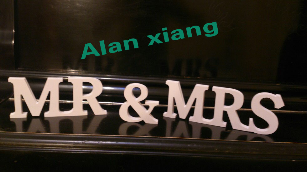 Free shipping mr and mrs sign for wedding decor wedding sign free shipping mr and mrs sign for wedding decor wedding sign sweetheart table mr mrs sign junglespirit Gallery
