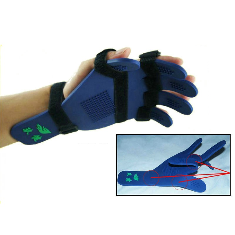 High quality Massage Hand Rehabilitation Appliances Universal adjustable Fingers board orthotics Finger Rehabilitation Trainer excellent quality 2 rollers relax finger joints hand massager fingers massage tool random color