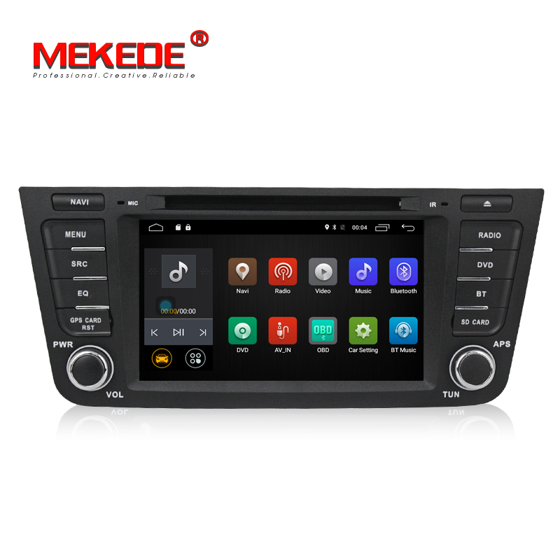 Free shipping car dvd player gps for Geely EX7 GX7 with Quad-Core android4.44 free 8G map card support Radio Bluetooth phone