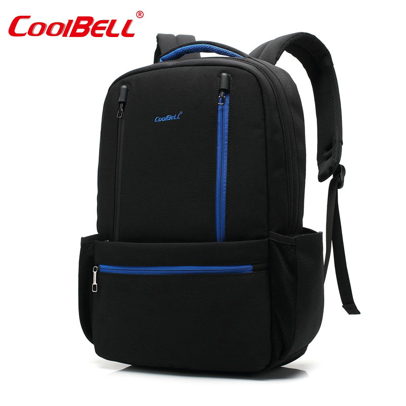 все цены на  2017 COOLBELL Laptop Backpack Men Women Bolsa Mochila for 15Inch Notebook Computer Rucksack School Bag Backpack for Teenagers-FF  онлайн