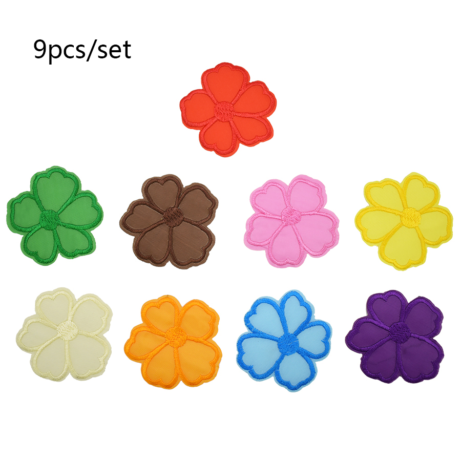 Applique Sequin Patch Number 0-9 Embroidered Patch Sew On//Iron On Patches Applique Clothes Dress Plant Hat Jeans Sewing Flowers Applique DIY Accessory 1 Set