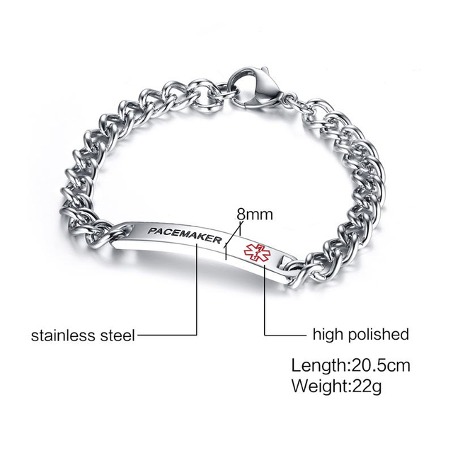 Medical Bracelets DIABETES BLOOD THINNER