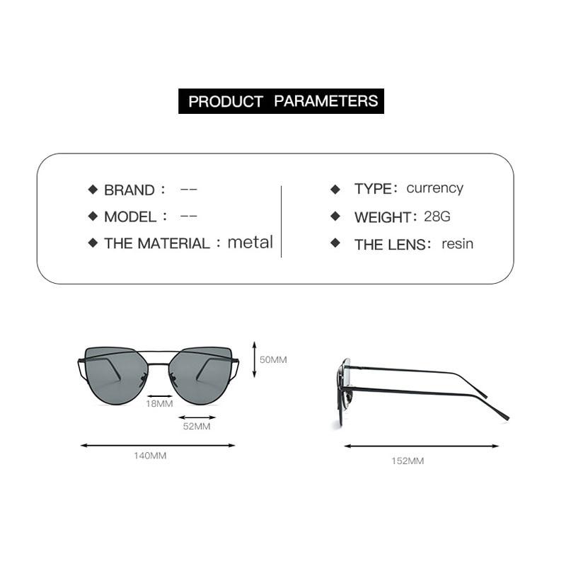 Double Beam Metal Frame Sunglasses Women Luxury Clear Lens Glasses UV400 Eyeglasses for Men Goggles Gafas Oculos Shades 808DF 5