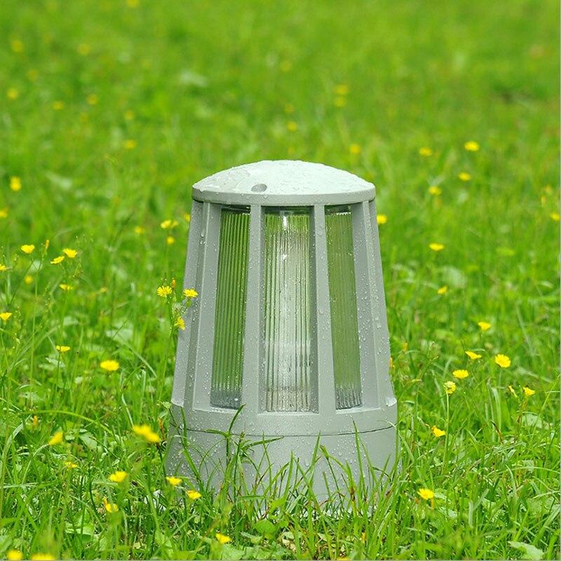 Personlighed haven landskab belysning udendørs vandtæt søjle lampe gateway forreste dør uden coulumn lys