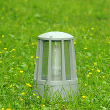 Купить с кэшбэком personality landscape lighting garden outdoor pillar lamp gateway front door residential coulumn light chapiter WCS-OCL0035