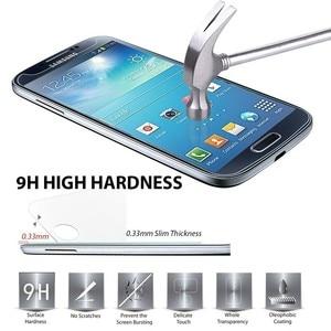 Image 2 - 2 adet temperli cam Samsung Galaxy S6 S5 S4 A5 A3 A710 J3 J5 2016 J2Prime G5308 Grand başbakan ekran koruyucu koruyucu Film