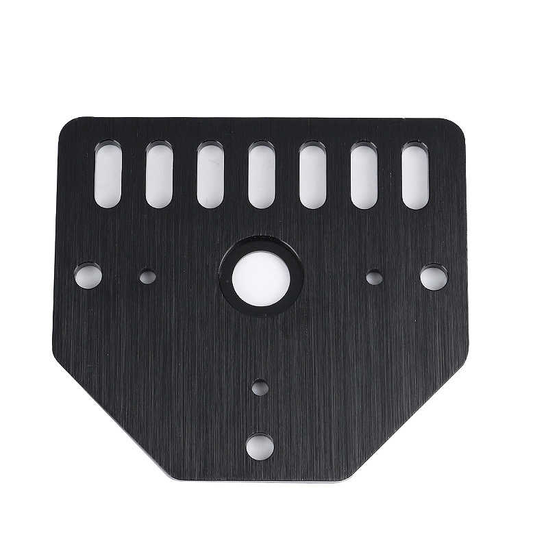 Bagian dari 3D Printer Tongkat Piring untuk Nema23 untuk Openbuilds V-Slot dengan 80X72X3mm untuk CNC & Kossel