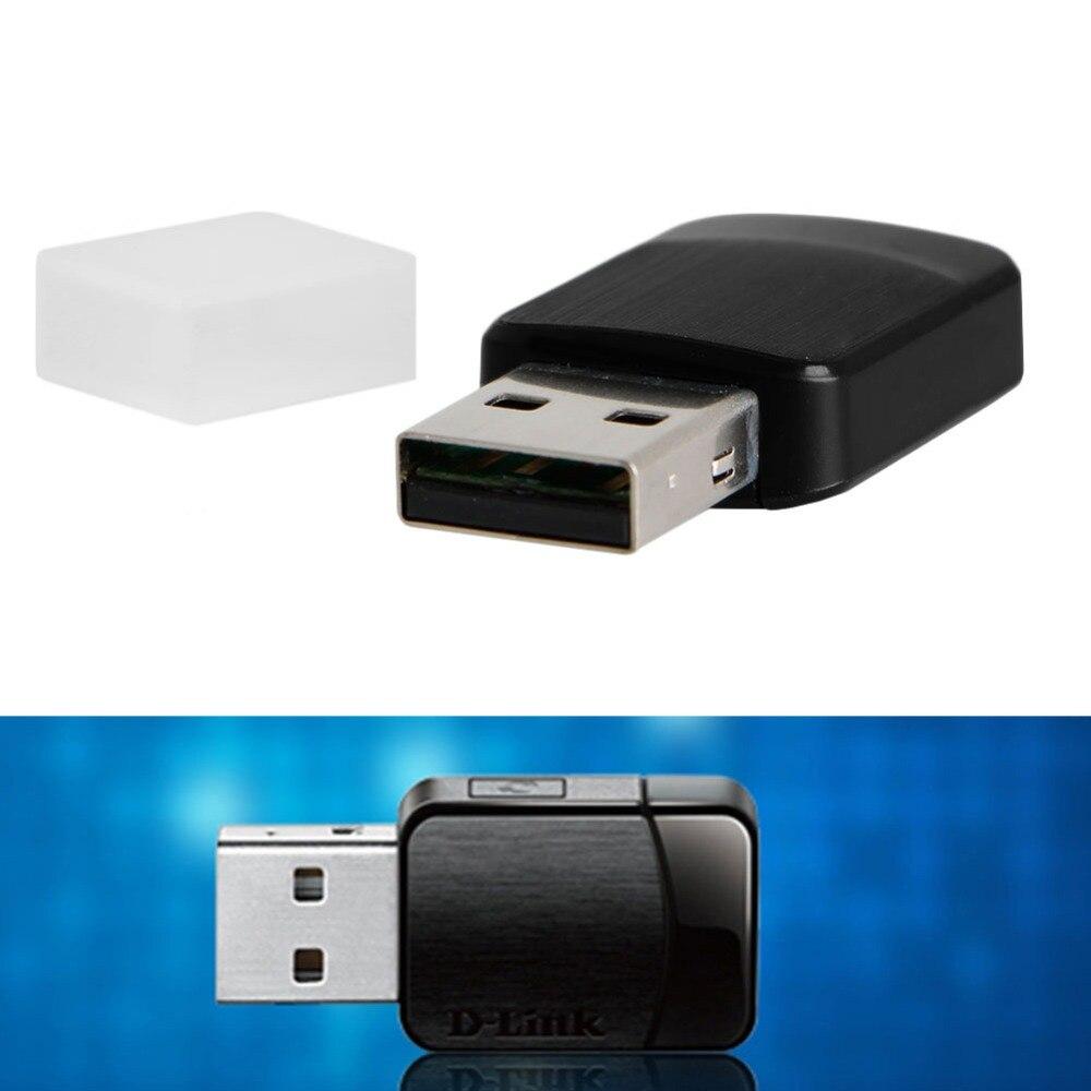 Mini Wireless Dual Band AC600 Mbps USB Wi-Fi Network Adapter DWA-171