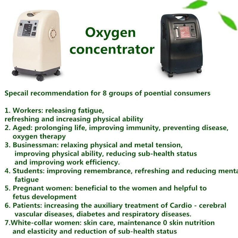 Image 4 - Молекулярное сито hepa фильтр медицинский портативный 3л/5л концентратор кислородаКислородная машина