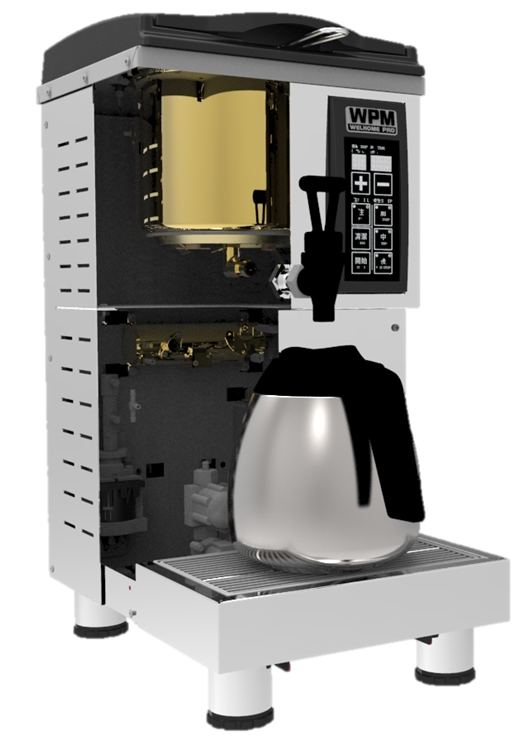 Tea Machine TC-80  Brew Hong Kong Style Milk Tea With Mellow And Aromatic Taste Efficient Vacuum Flask Top Vents Tea Pouch