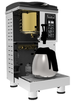 Tea Machine TC 80 brew Hong Kong style milk tea with mellow and aromatic taste Efficient Vacuum Flask Top Vents Tea Pouch