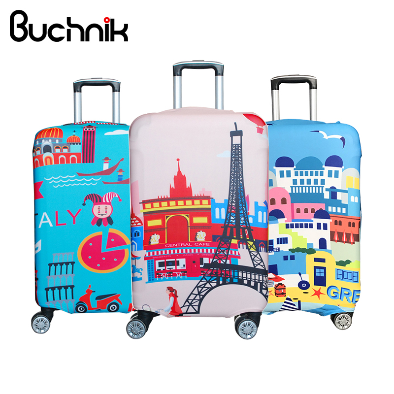 Waterproof Elastic Luggage Cover Cartoon Trolley Suitcase Student Kid Protect Dust Bag Case Travel A