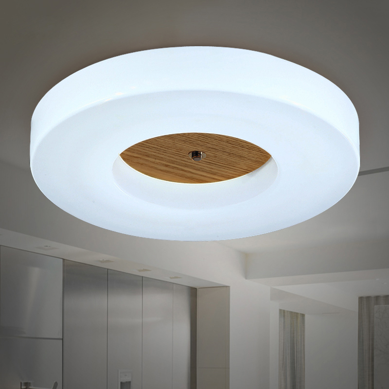 Japanese bedroom LED ceiling lights wood kitchen fixtures balcony ceiling lamps bathroom corridor ceiling lighting цены