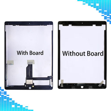 A1584 A1652 For iPad Pro Black / White LCD display+Touch screen assembly Repair parts For iPad Pro 12.9″ A1584 A1652 LCD Screen