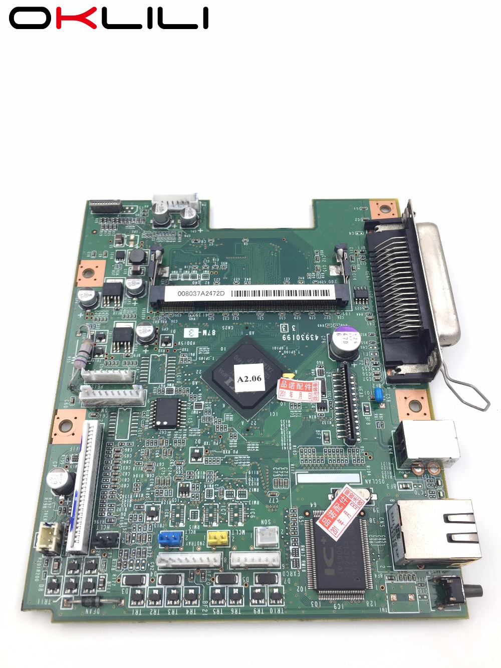 43963616 Board 87M-3 Nic mainboard mother Formatter Board for OKI B420 B410 B410d B430 B430d MPS480mb MPS420b MB460 MB470 MB480 formatter pca assy formatter board logic main board mainboard mother board for hp m775 m775dn m775f m775z m775z ce396 60001