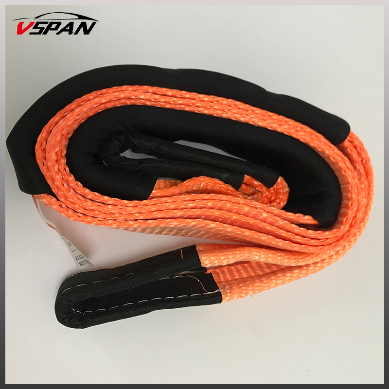 Wholesale Recovery Strap Tree Trunk Protector 3M 12Ton Breakforce 4WD Offroad Snatch Strap Winch Extension Recovery