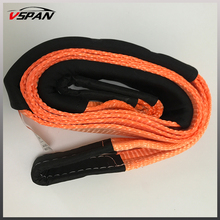 Wholesale Recovery Strap Tree Trunk Protector 3M 12Ton Breakforce 4WD Offroad Snatch Winch Extension Tow