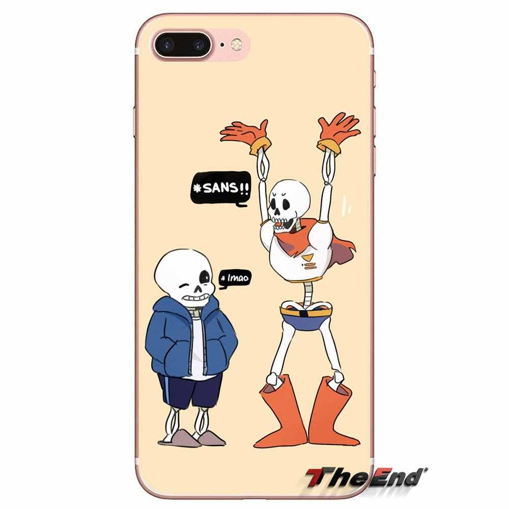 For Xiaomi Redmi 4 3 3S Pro Mi3 Mi4 Mi4i Mi4C Mi5 Mi5S Mi Max Note 2 3 4  Game Undertale puns pictures Soft Case