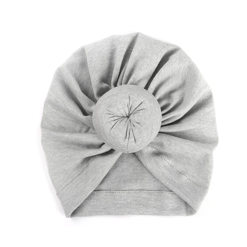 2018 New 1 PC Fashion Donut Baby Hat Newborn Elastic Cotton Baby Beanie Cap Multicolor Infant Turban Hats