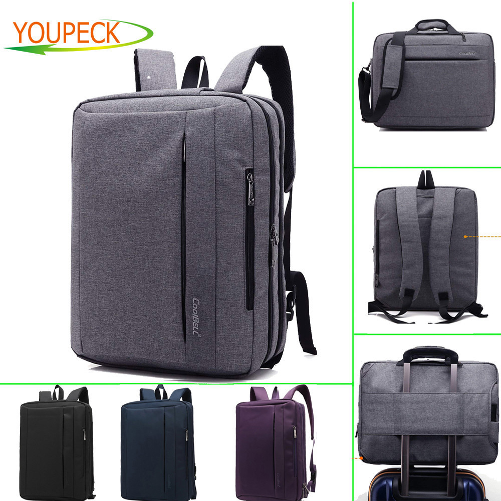 שקית נייד גדול שקית 15.6 17.3 אינץ 'מחשב נייד נייד מזוודה תיק כתף תיק גב נייד גברים תיק נשים
