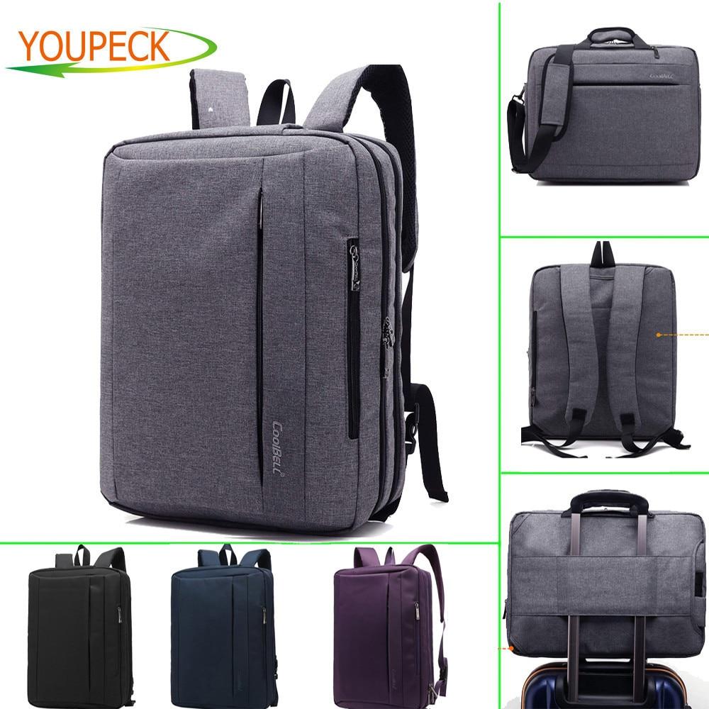 Convertible Large font b Laptop b font Bag 15 6 17 3 inch Notebook Bag font