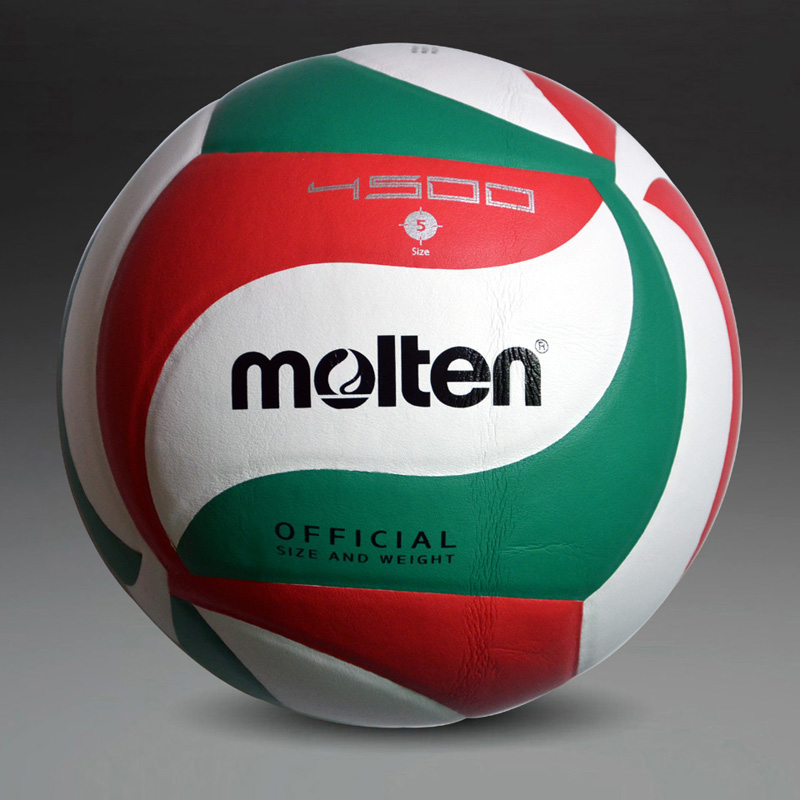 Free Shipping Hot Sale NEW Brand Molten Official weight Size 5 PU Volleyball Soft Touch V5M4500 Match Volleyball High Quality soccer balls size 4